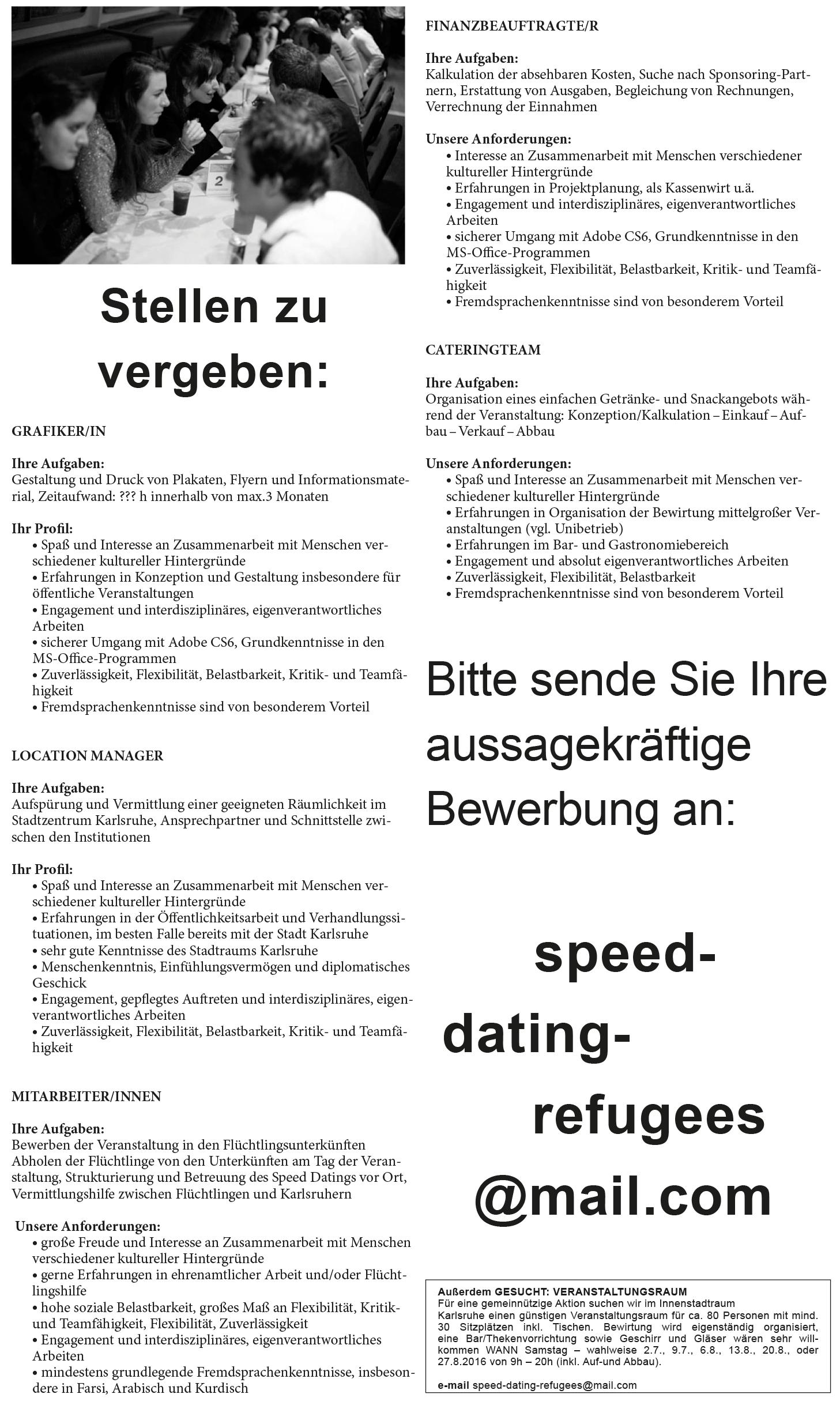Speed dating karlsruhe gelbe seiten
